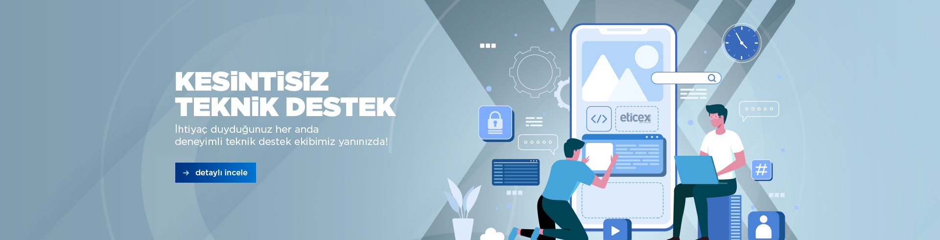 Eticex - E-ticaret Yazılımı